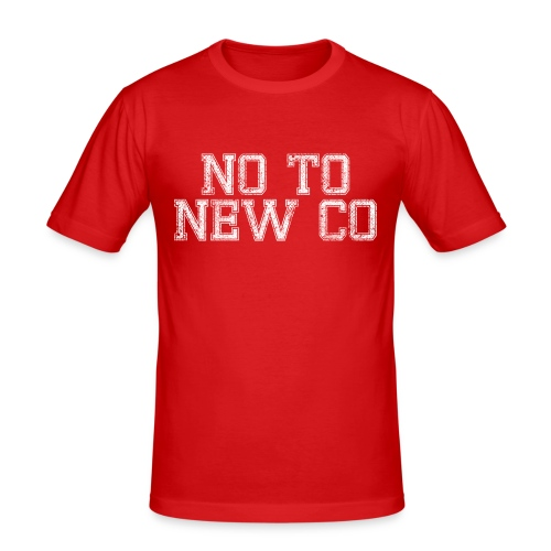 No To New Co - Men's Slim Fit T-Shirt