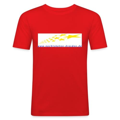 web adresse - Männer Slim Fit T-Shirt