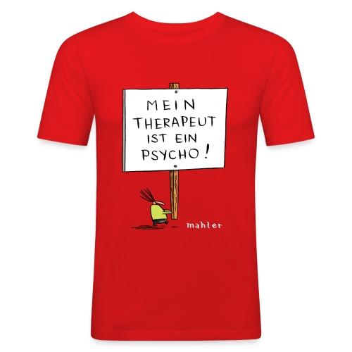 therapeut - Männer Slim Fit T-Shirt