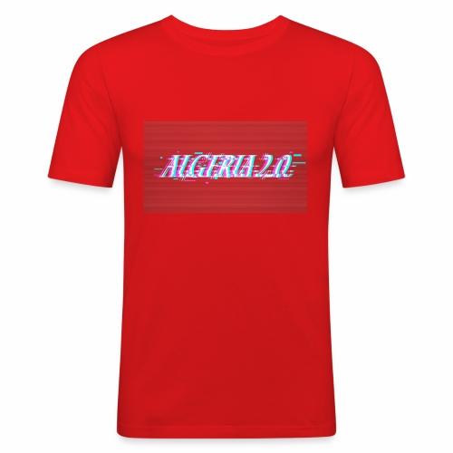 Algeria 2 0 - Männer Slim Fit T-Shirt