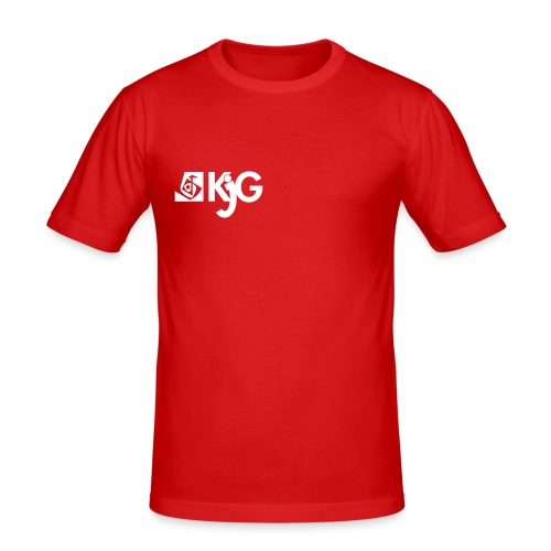 kjglogo 10 - Männer Slim Fit T-Shirt