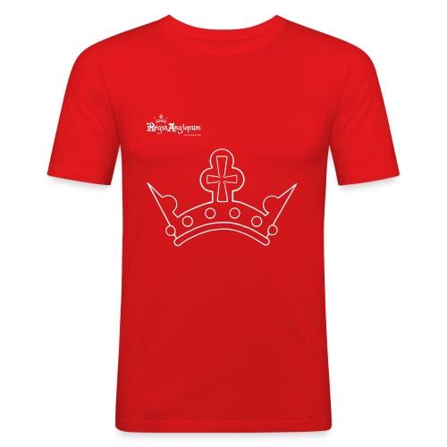 White Crown - Men's Slim Fit T-Shirt