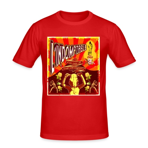 lindomptable - T-shirt près du corps Homme
