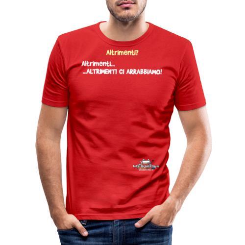 Altrimenti - Maglietta aderente da uomo
