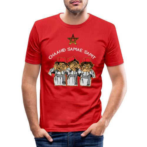 Mocro HZZ - Mannen slim fit T-shirt