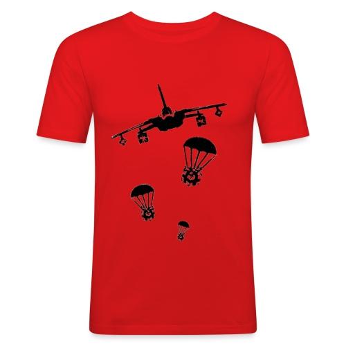 gift peace airstrick - Men's Slim Fit T-Shirt
