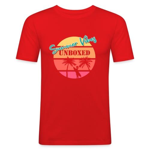 Summer Vibes UNBOXED - Männer Slim Fit T-Shirt