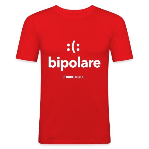 Bipolare - Maglietta aderente da uomo