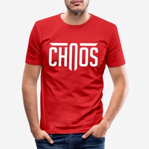 Chaos - Männer Slim Fit T-Shirt