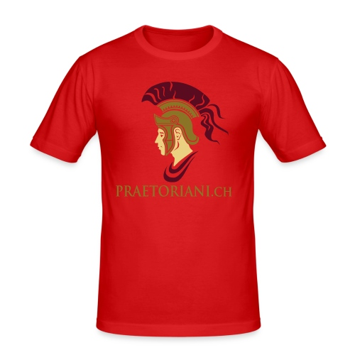 ROM LEGIONAER PRAETORIANER - Männer Slim Fit T-Shirt