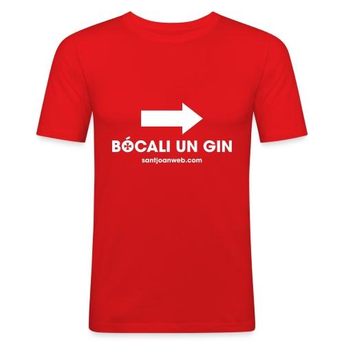 bocaliungin - Camiseta ajustada hombre