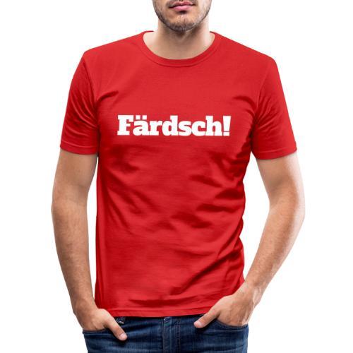 Färdsch - Männer Slim Fit T-Shirt