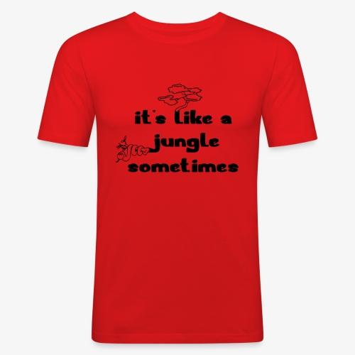 junglecontest - Männer Slim Fit T-Shirt