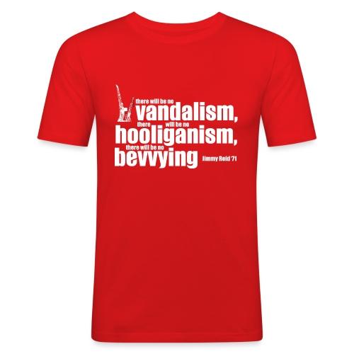 No Bevvying - Men's Slim Fit T-Shirt