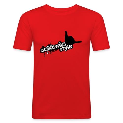 california style 1 - Maglietta aderente da uomo