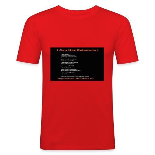 robots png - T-shirt près du corps Homme