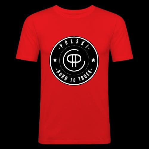 Born to TRUUUCK - Slim Fit T-shirt herr