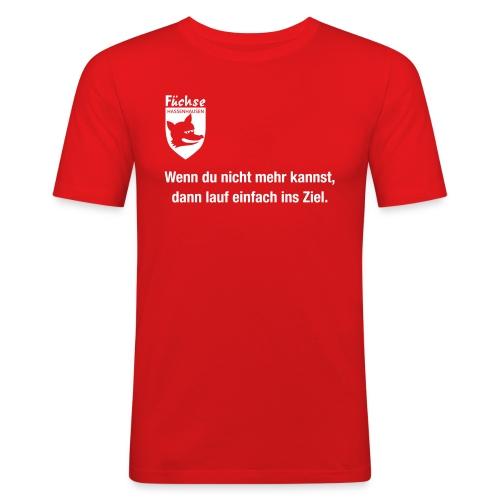 fuechse laufdoch - Männer Slim Fit T-Shirt
