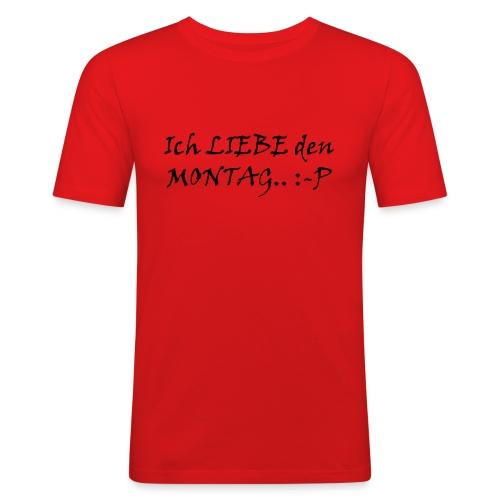 Montag - Männer Slim Fit T-Shirt