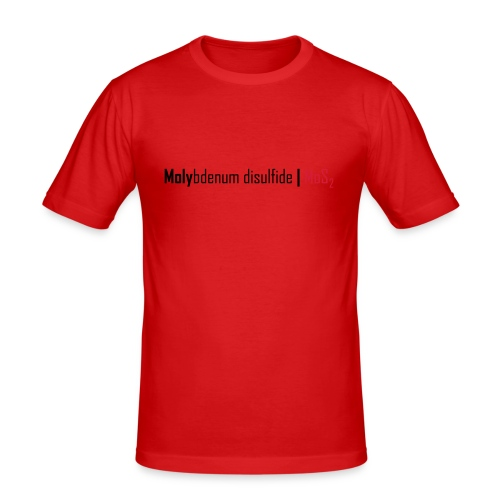 Molybdenum Disulfide - Men's Slim Fit T-Shirt