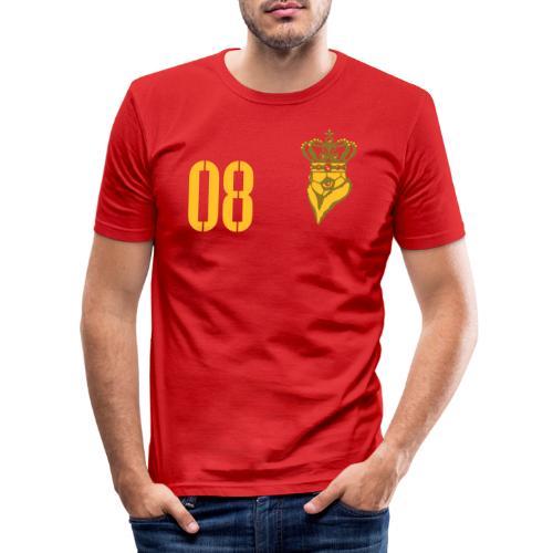 FußballKaiser 08 - Männer Slim Fit T-Shirt