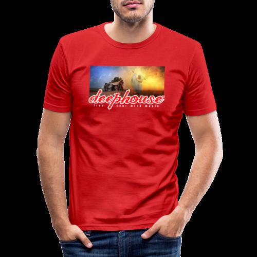 deep house - Männer Slim Fit T-Shirt