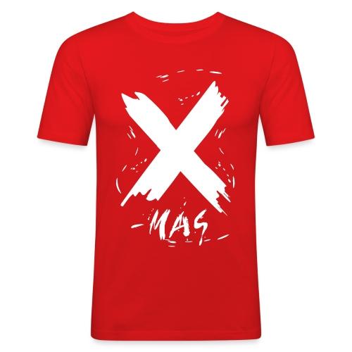 X-mas Merry Christmas - Männer Slim Fit T-Shirt