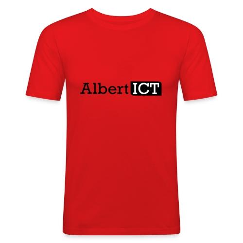 Logo_AlbertICT - slim fit T-shirt