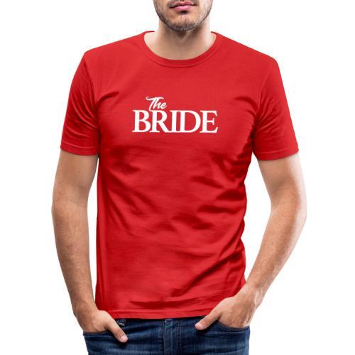 The bride Die Braut - Männer Slim Fit T-Shirt