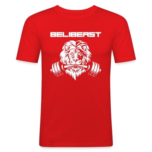 BELIB PNG WHITE - T-shirt près du corps Homme