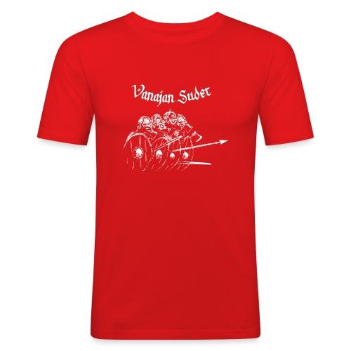 Kilpimuuri B - Miesten tyköistuva t-paita