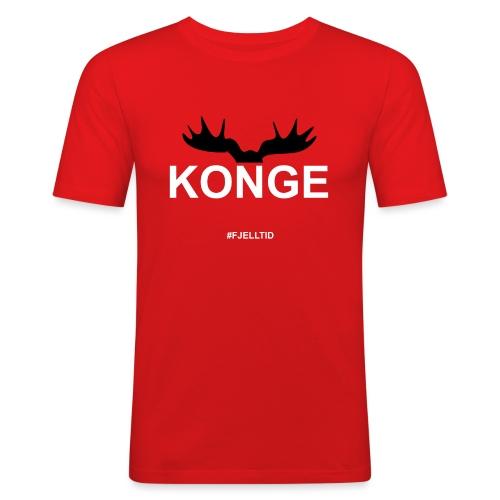 Konge - Slim Fit T-skjorte for menn