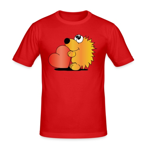 Igelchen - Männer Slim Fit T-Shirt