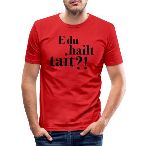 Hailttait - Slim Fit T-skjorte for menn