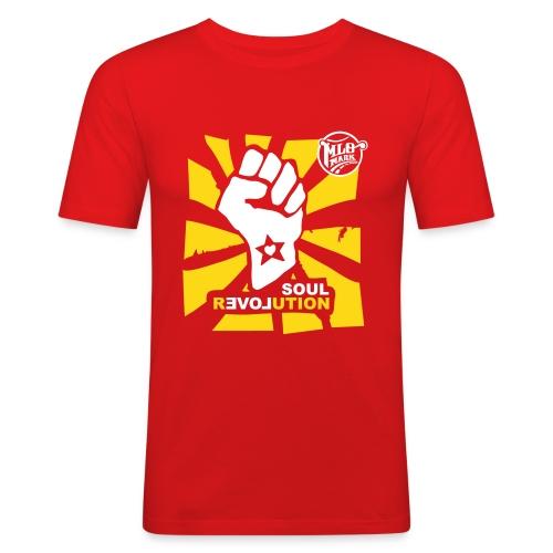 MLO Soul Revolution Medium - Männer Slim Fit T-Shirt