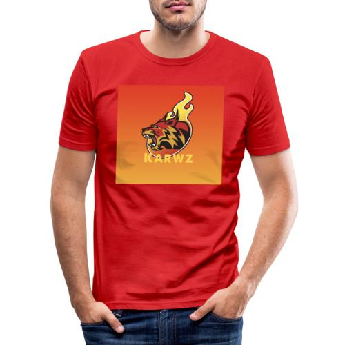 Karwz limited edition Tiger - Herre Slim Fit T-Shirt