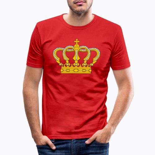 Golden crown - Men's Slim Fit T-Shirt