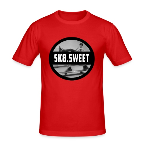 sk8 buttons - slim fit T-shirt