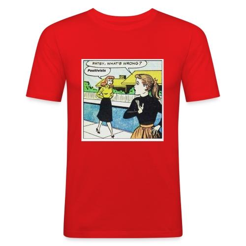 Positivists - Men's Slim Fit T-Shirt