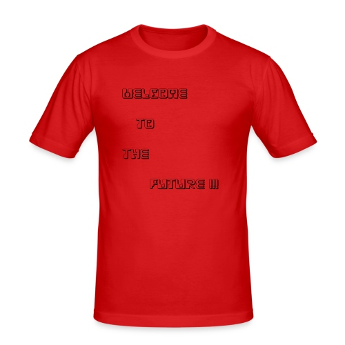 WelcometotheFuture - Mannen slim fit T-shirt
