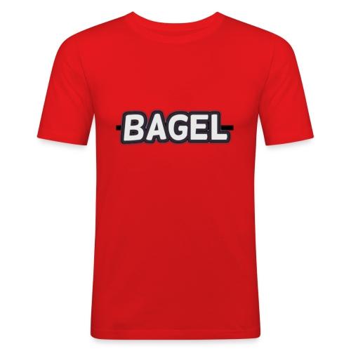 BAGELlllllllllllllllllllllllllllllllllllllllllllll - Mannen slim fit T-shirt