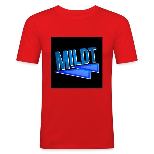 MILDT Muismat - Mannen slim fit T-shirt