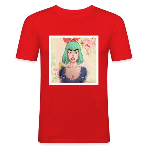 elena of spain - Men's Slim Fit T-Shirt
