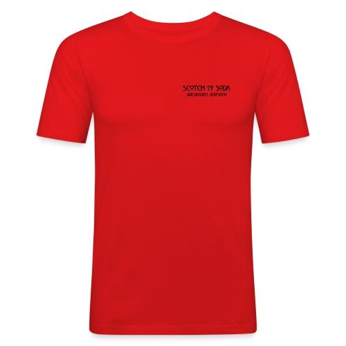 Goldgasse 9 - Front - Men's Slim Fit T-Shirt