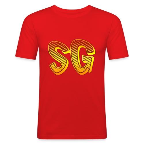 Felpa SG Uomo - Maglietta aderente da uomo