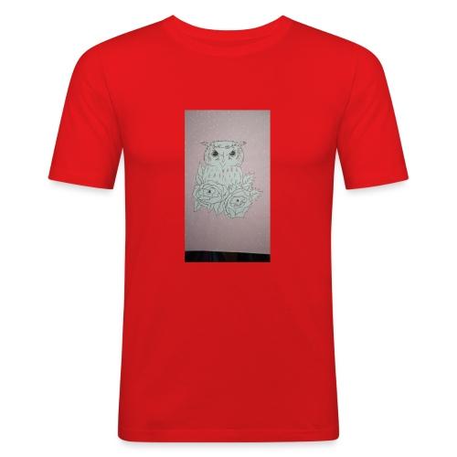 bird - Camiseta ajustada hombre