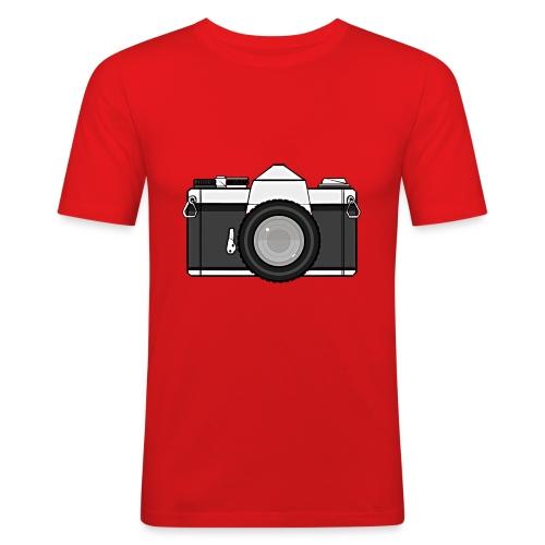 Shot Your Photo - Maglietta aderente da uomo