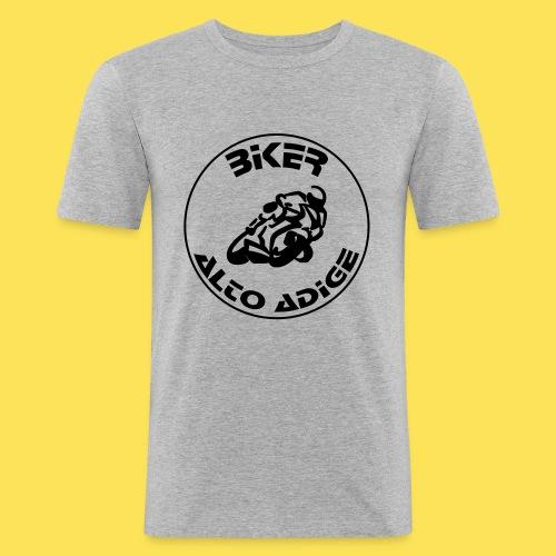 BikerAltoAdige Circle - Maglietta aderente da uomo