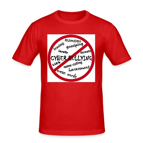 anti-bullying armour - Men's Slim Fit T-Shirt