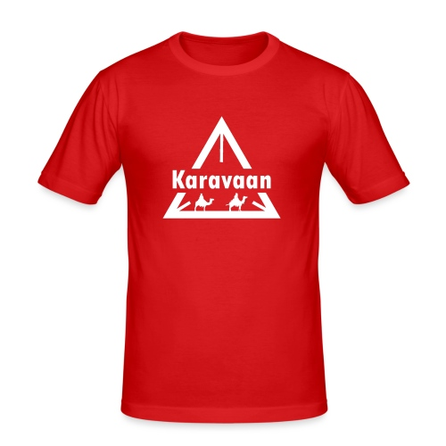 Karavaan White (High Res) - slim fit T-shirt